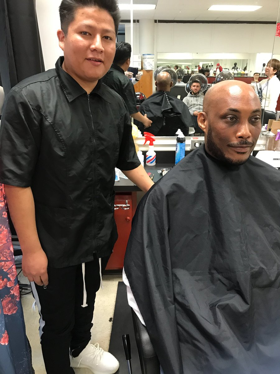 Finished product of third year Barber student!!! <a target='_blank' href='https://t.co/QNx2k7rcNG'>https://t.co/QNx2k7rcNG</a>