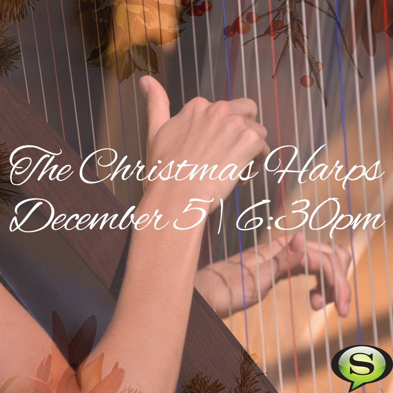 The Christmas Harps are tonight at 6:30pm in the Worship Center at Bloomington East. Join us for an evening of beautiful music from IU Harps Students! Childcare available for kids 2 and younger. https://t.co/Wek7FEinVx