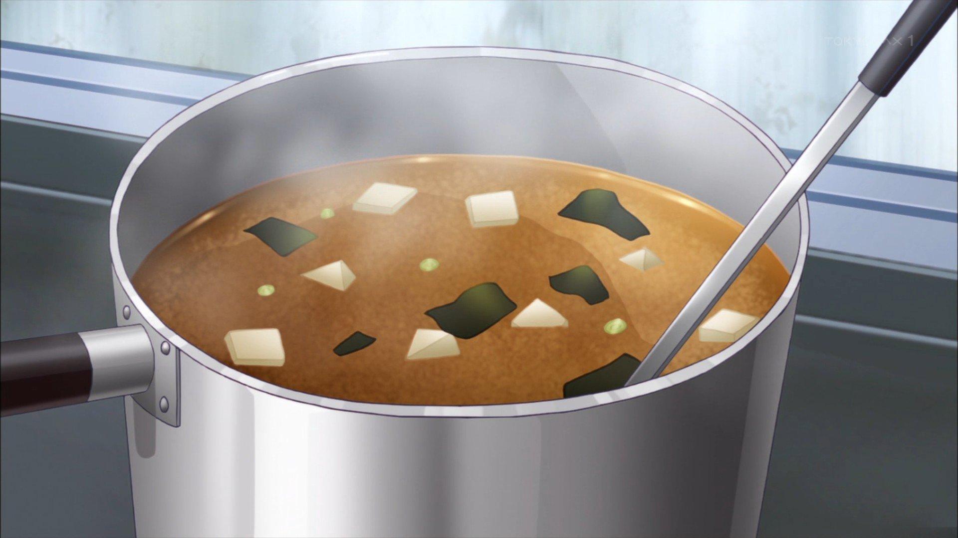 味噌汁 #soraumi_anime #ソラウミアニメ https://t.co/XiKpTuxCdC