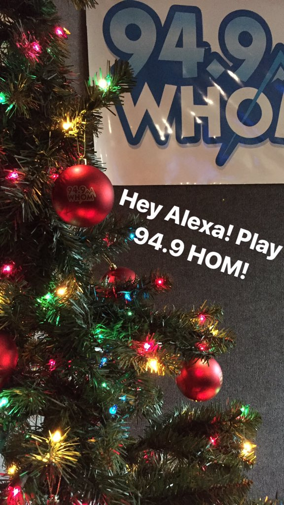 Continuous Christmas Music.94 9 Whom On Twitter Load The 94 9 Hom Skill On Your