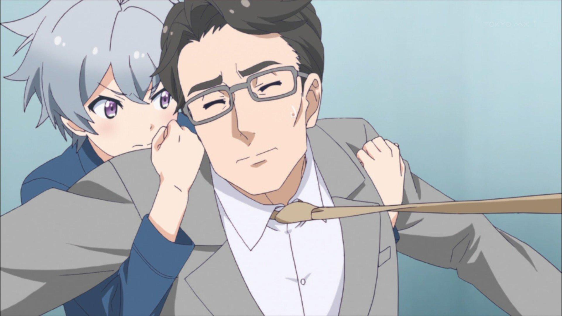 俺もまきまきにネクタイ引っ張られたい… #ソラウミアニメ #soraumi_anime https://t.co/9Xlp5u7cXq