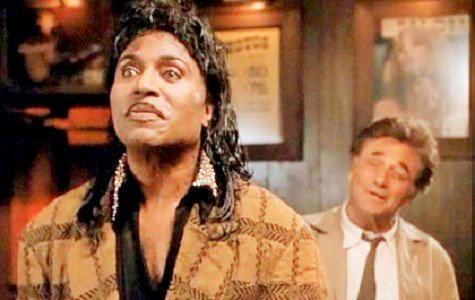 Happy Birthday Little Richard born this day in 1932 ! photo: Little Richard with Columbo