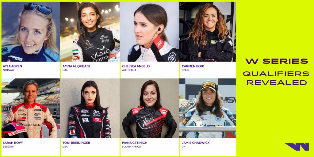 Looking forward to working with  the @WSeriesRacing team in conjunction with @alex_wurz and @WhisperFilmsUK this weekend as the search continues to our top 20 that will compete on the @DTM platform to be the First W series champion