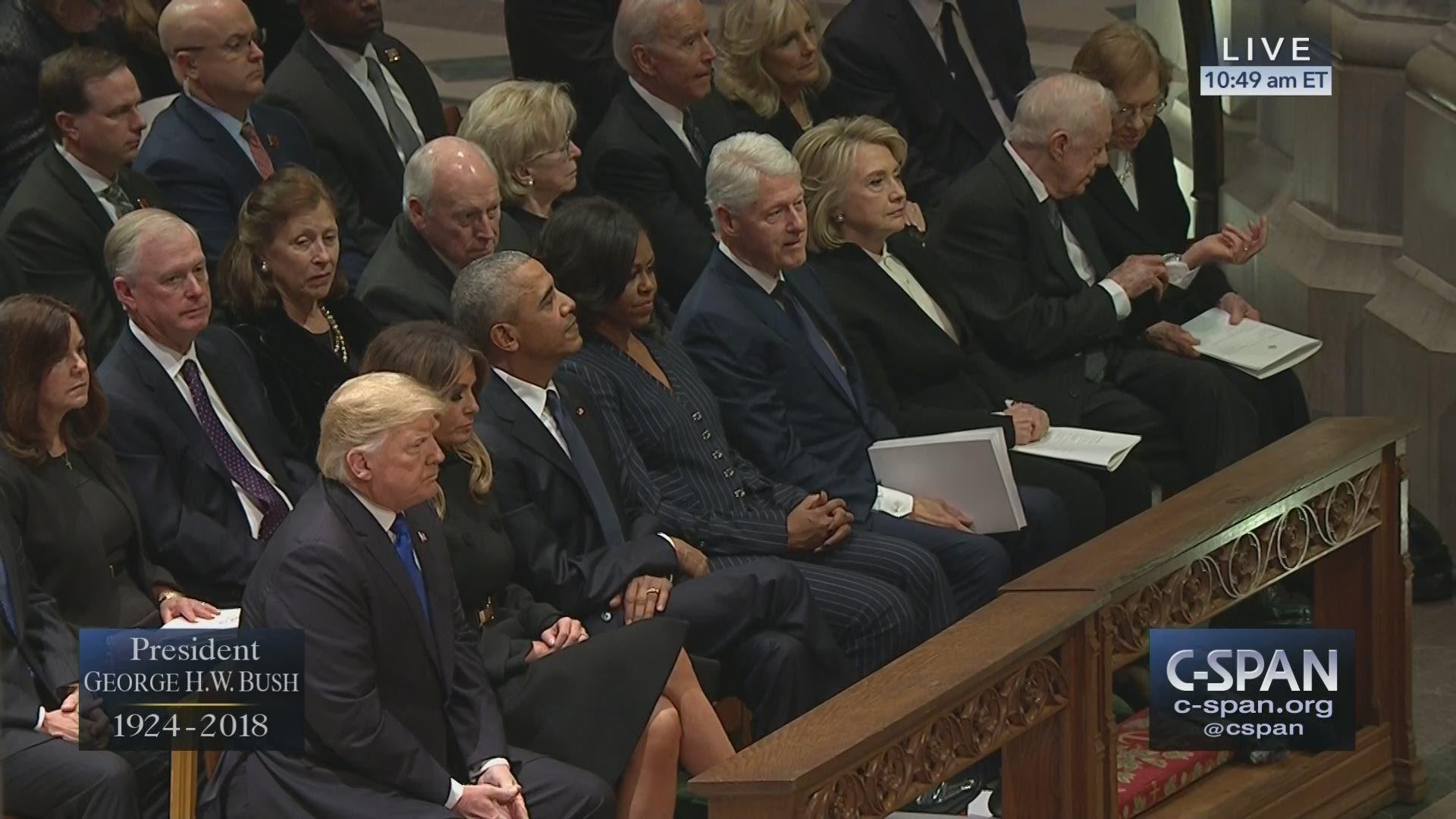 State Funeral for President George H.W. Bush – LIVE on C-SPAN https://t.co/QjhOF3Sxvc #Bush41 https://t.co/rohZslnyqI