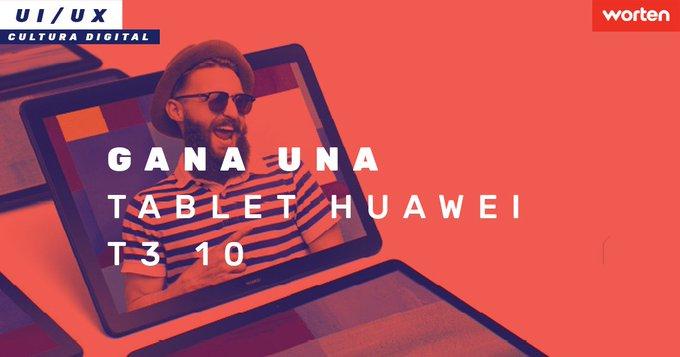 ¡SORTEO! ¿Quieres una tablet @HuaweiSpain T3 10? Solo tienes que seguir los siguientes pasos: ➡️Siguenos @WortenES ➡️Haz RT ➡️Menciona un amigo en comentarios Además, consiguela antes del 12/12 y llévate gratis una tarjeta de memoria de 128gb Photo
