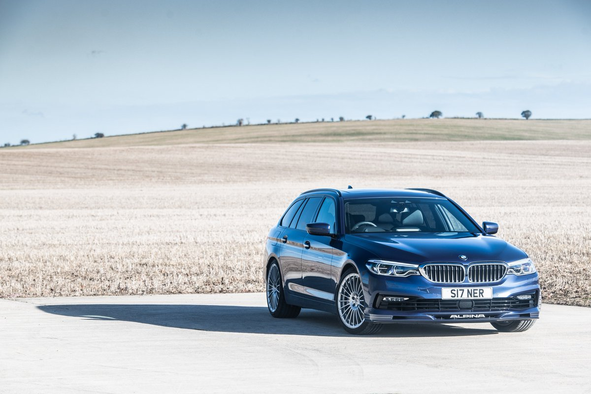 BMW doesn't build an M5 wagon, but even if it did, would it be as good as Alpina's 600bhp B5 BiTurbo Touring? Find out here 👇  https://www.autocar.co.uk/car-review/alpina/b5/first-drives/alpina-b5-biturbo-touring-2018-uk-review…