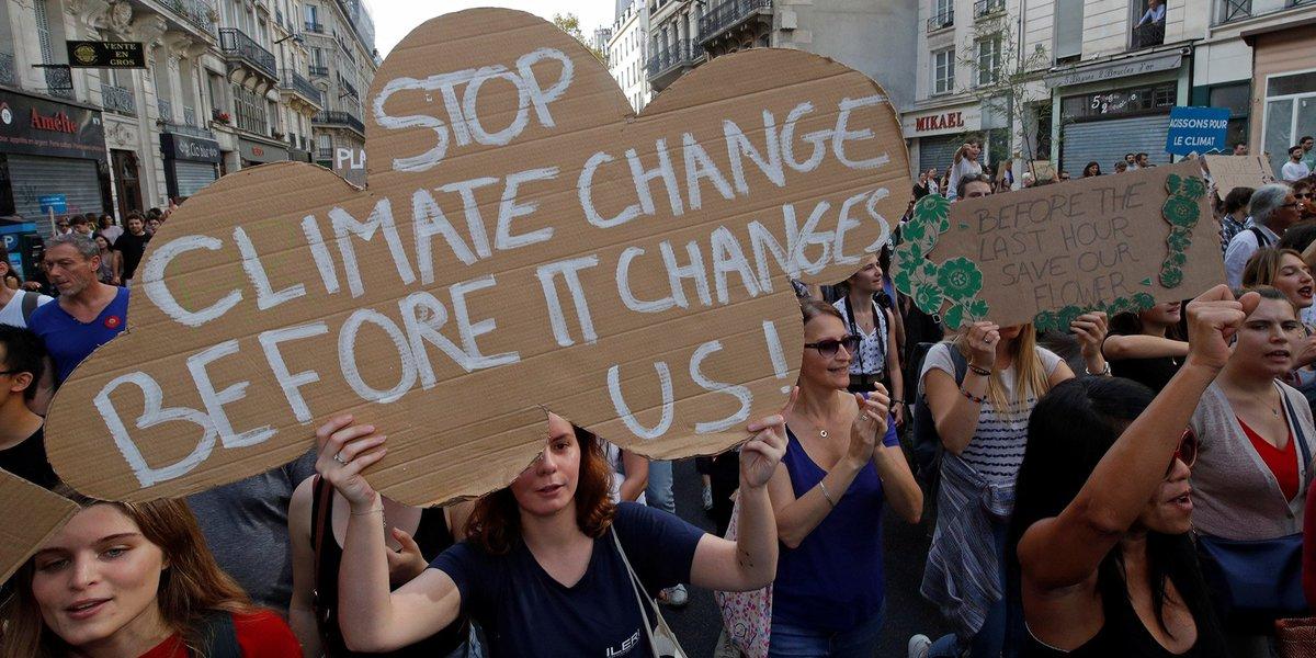 TRIBUNE. En gilet vert ou en gilet jaune, marchons ensemble le 8 décembre pour le climat par Sergio Coronado et Esther Benbassa lejdd.fr/Politique/trib…