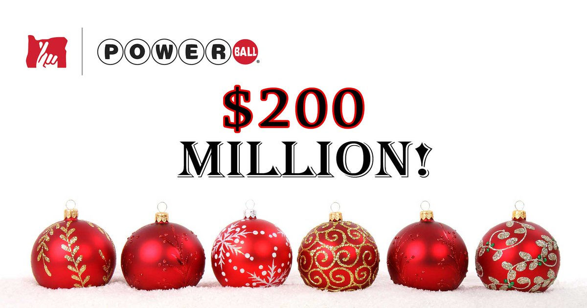 Oregon Lottery On Twitter Tonight S Powerball Drawing Is Up To