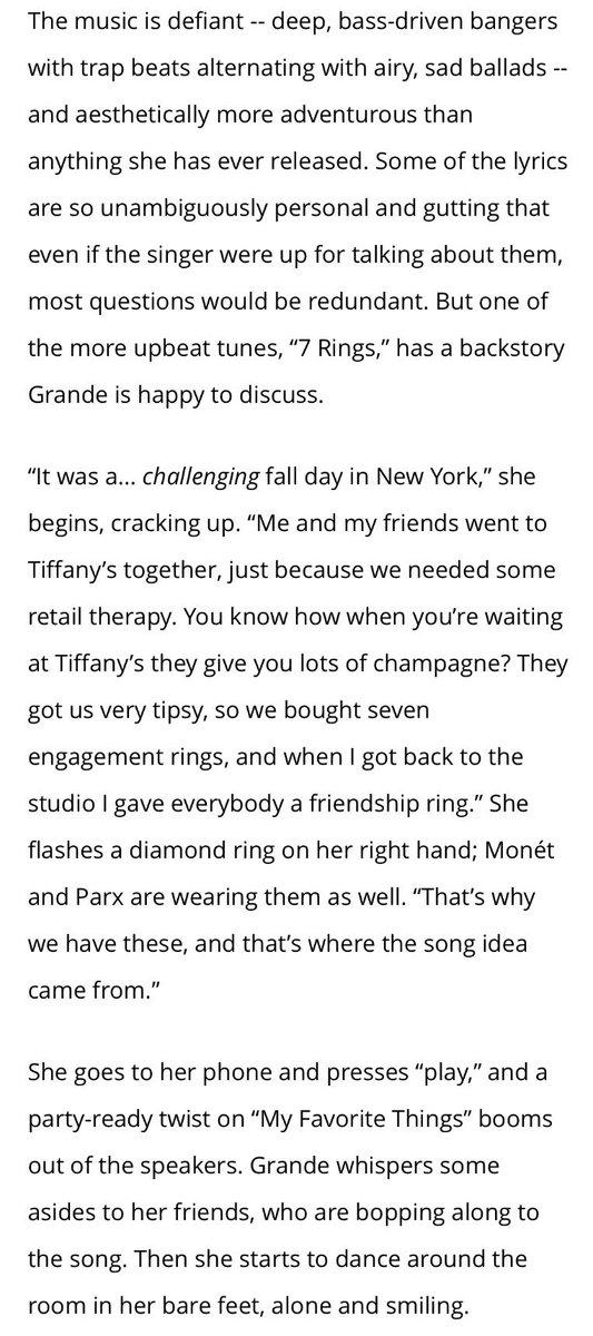 Music News Rumors On Twitter Ariana Grande S 7 Rings A New