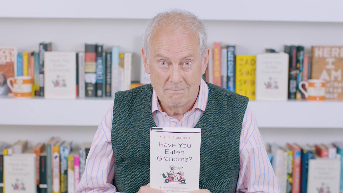 We interrupt this programme to bring you an important announcement from Gyles Brandreth. Have You Eaten Grandma? bit.ly/2PpM68g Stocking fillers: bit.ly/2G30Hqw
