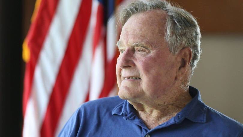 Inge Herman Rydland On Twitter The Key To A Good George Hw Bush Impersonation Is Mr Rogers Trying To Be John Wayne Historian Jon Meachan Cites Dana Carvey At President Bush Funeral