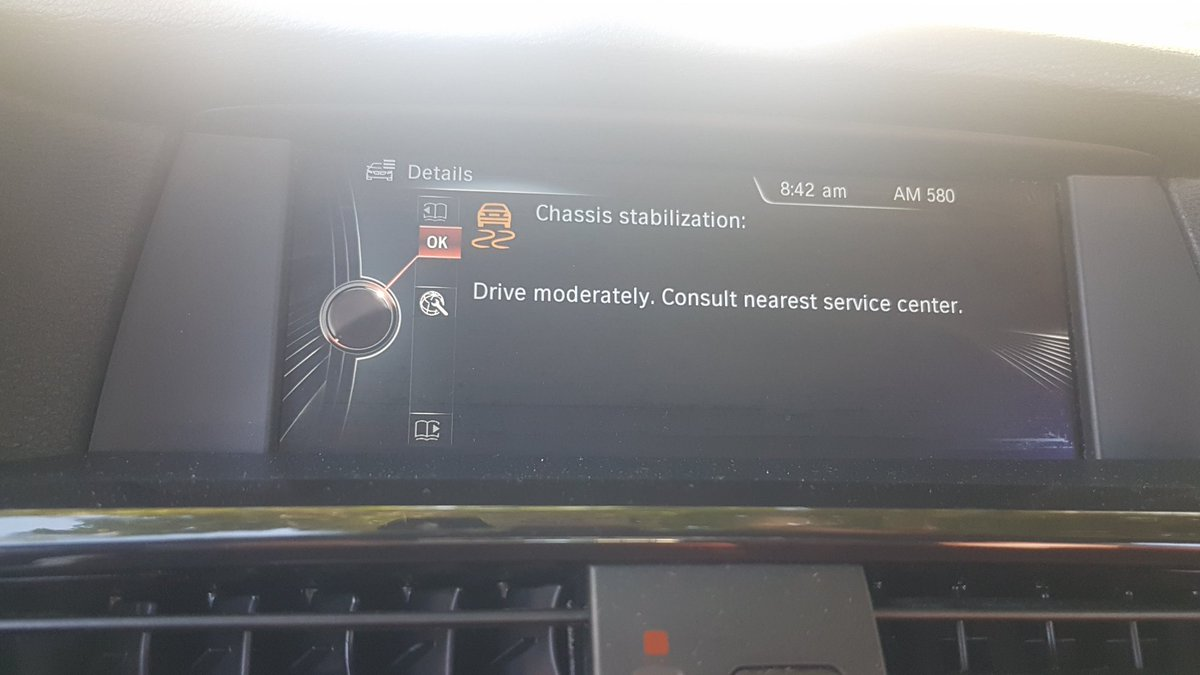 Bmw X5 Chassis Stabilization