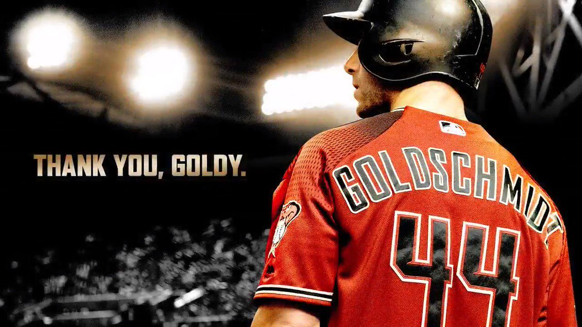For your dedication. For your heart. For everything.  Thank you, Goldy. https://t.co/gHEzENdqtI