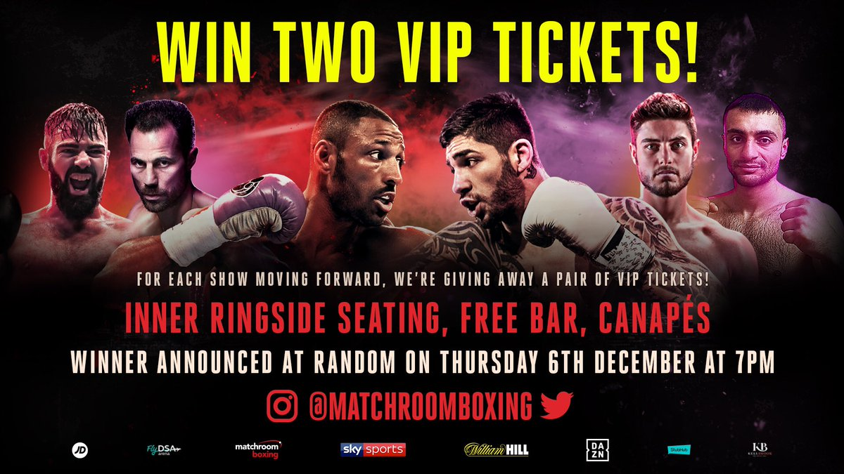 RT to enter! 🔁  Be in with a chance to win a pair of VIP tickets to #BrookZerafa this Saturday in Sheffield! 🎟