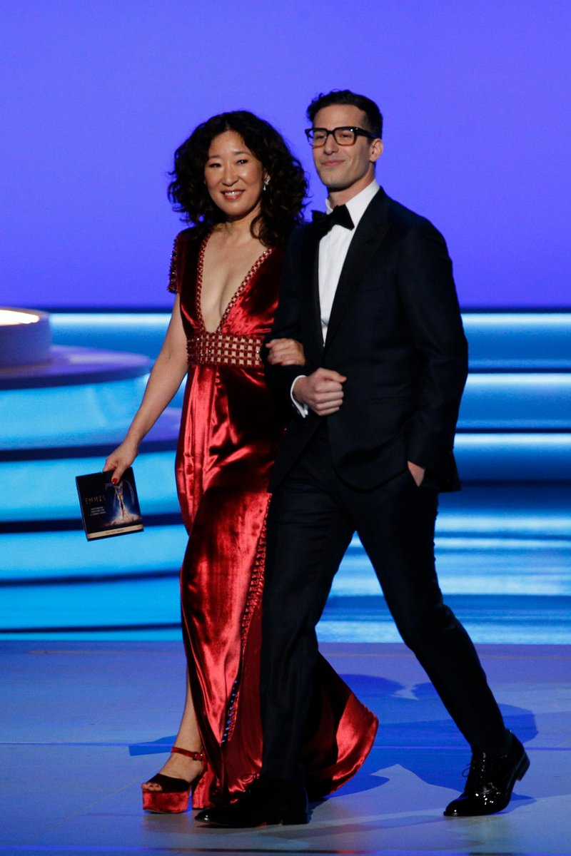 Sandra Oh & Andy Samberg are hosting The #GoldenGlobes January 6 on NBC! That's it. That's the tweet.