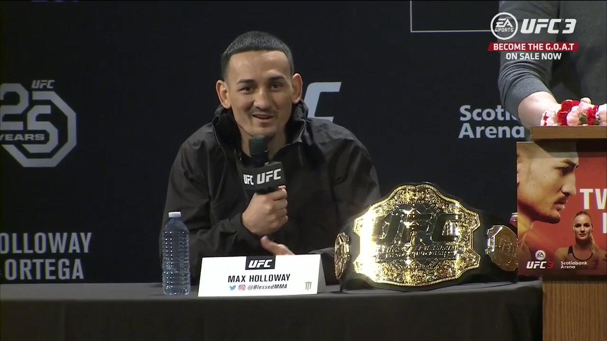Welcome to the 10th Island 🌺 @BlessedMMA