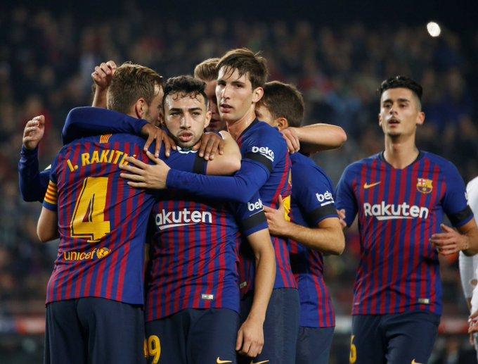 Sin Lionel Messi ni Luis Suárez, pero con gran actuación de Rakitic, Barcelona sella su pase a los Octavos de Final de la Copa Del Rey Barcelona 4-1 Cultural Leonesa (Global 5-1) 🇪🇸🏆👑 Foto