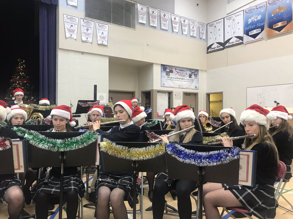 Merry Little Christmas 2011.St Bon S On Twitter The Wind Ensemble Starts Off Our