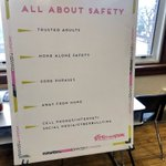 Image for the Tweet beginning: #GirlsInTheKnow All About Safety discussion