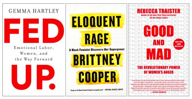 Books for the women in your life who are mad by @gemmahartley, @ProfessorCrunk, and @rtraister: