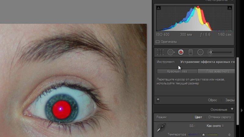 в каком фоторедакторе можно убрать красные глаза один год ребятам
