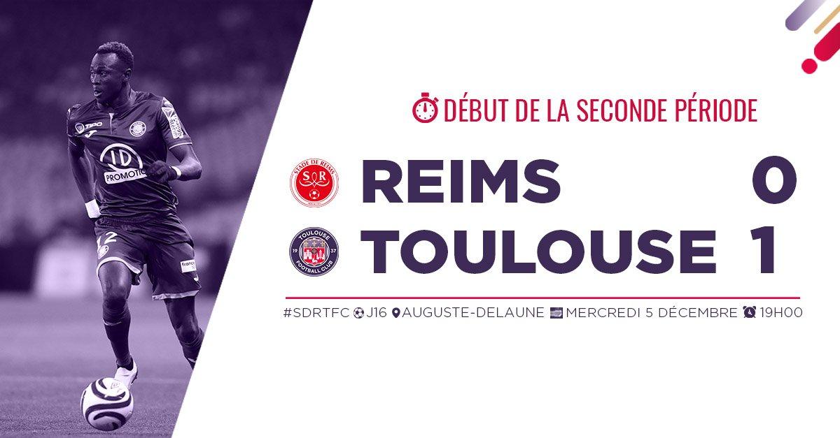 Reims – Toulouse résumé et buts 0-1