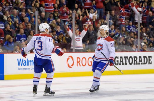 From @JohnLuTSNMtl: Habs Ice Chips: Domi, Drouin duo starting to turn heads. WATCH: Photo