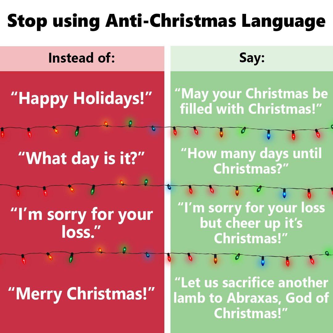 Anti Christmas Meme
