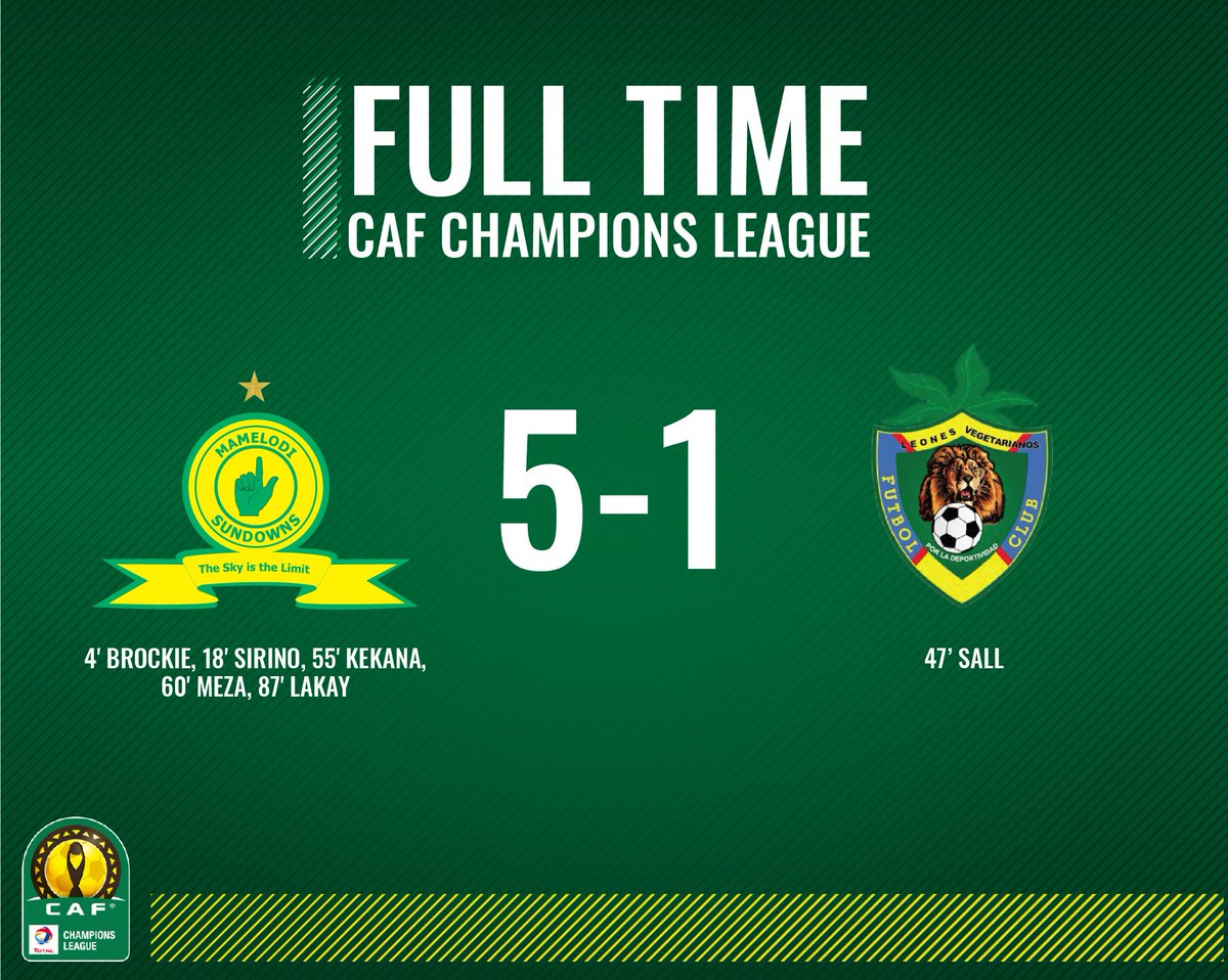Mamelodi Sundowns Fc On Twitter The Ref Calls An End The Game As