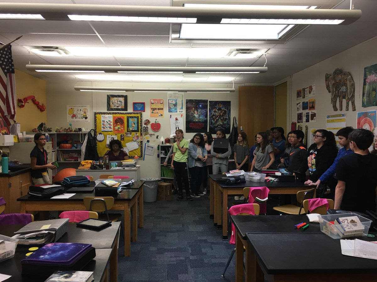 Philosophical chairs with the Heinz Dilemma and 7th grade PBL unit on the spread of disease. Students change sides based on the ideas of their peers. Should Heinz steal the medicine for his wife? Is testing the medicine on monkeys ethical? <a target='_blank' href='http://twitter.com/JeffersonIBMYP'>@JeffersonIBMYP</a> <a target='_blank' href='http://twitter.com/APSGifted'>@APSGifted</a> <a target='_blank' href='http://twitter.com/APSscience'>@APSscience</a> <a target='_blank' href='https://t.co/7s545NFdkd'>https://t.co/7s545NFdkd</a>