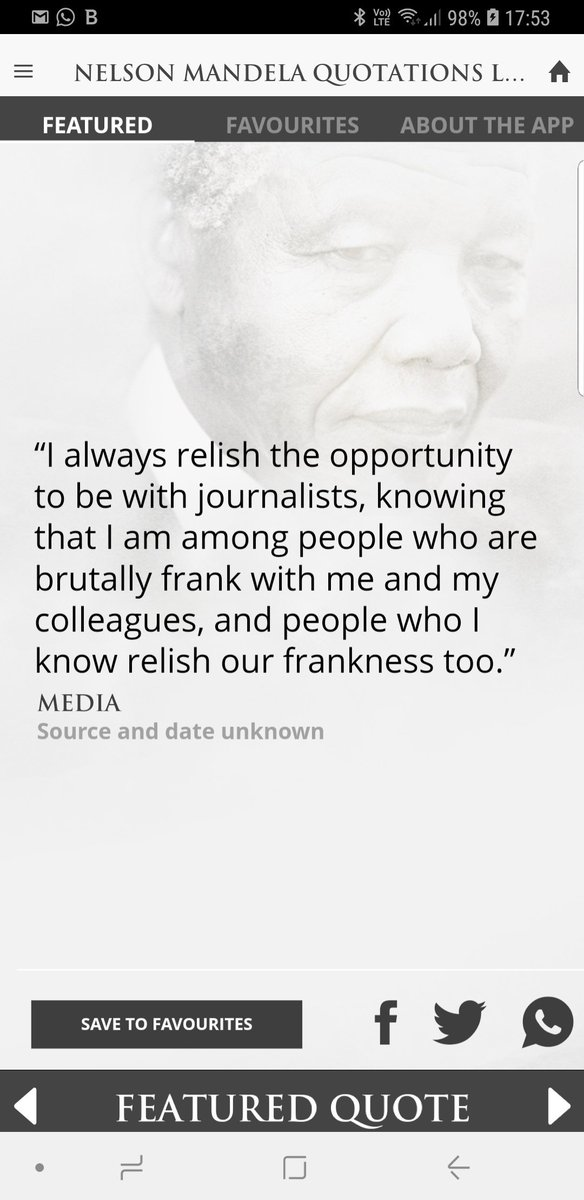 Madiba on the media #MediaFreedom #RememberNelsonMandela #Madiba100 #Mandela100<br>http://pic.twitter.com/T8DOP1BbMI