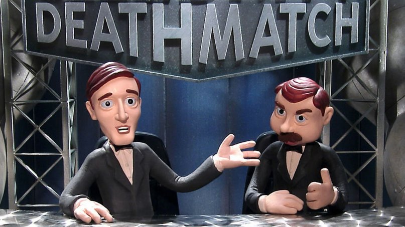 MTV is bringing back gory claymation classic 'Celebrity Deathmatch' https://t.co/fxTmRzpACH