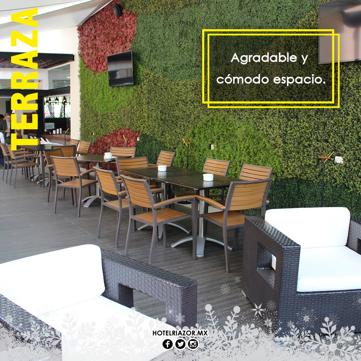 Hotel Riazor On Twitter En Nuestra Terraza Podrás