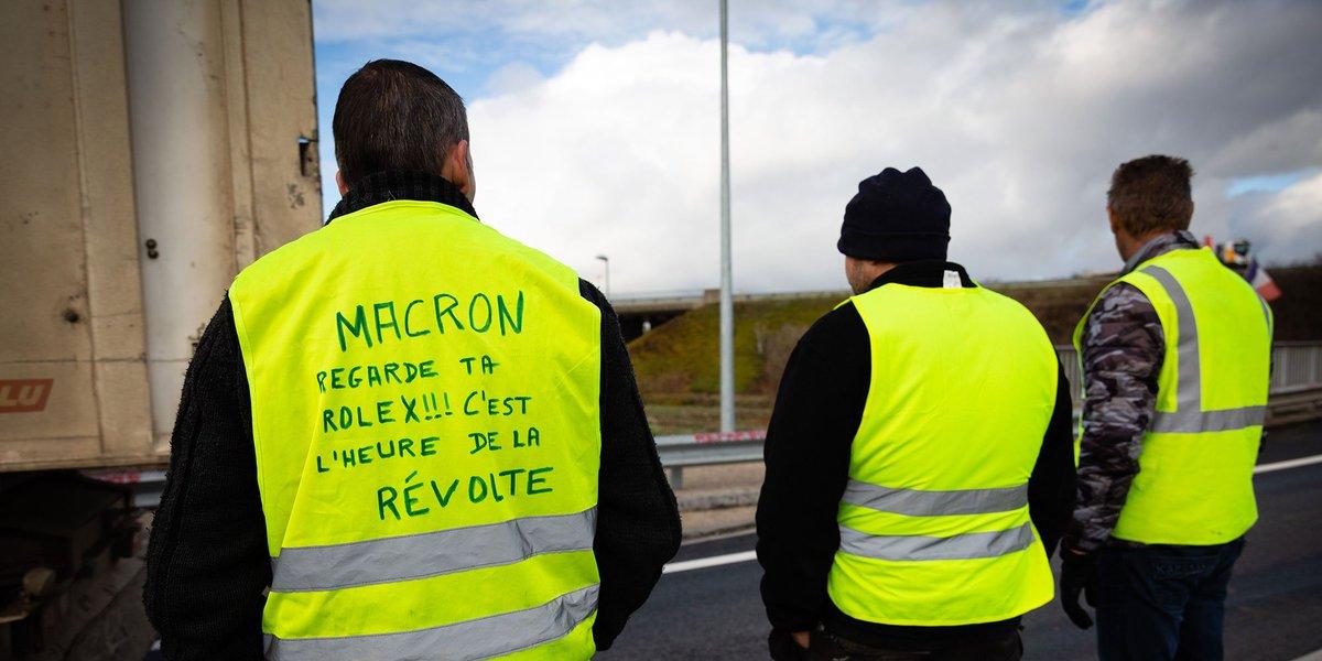 Gilets jaunes: après les annonces dEdouard Philippe, les Français soutiennent toujours le mouvement lejdd.fr/Politique/gile…
