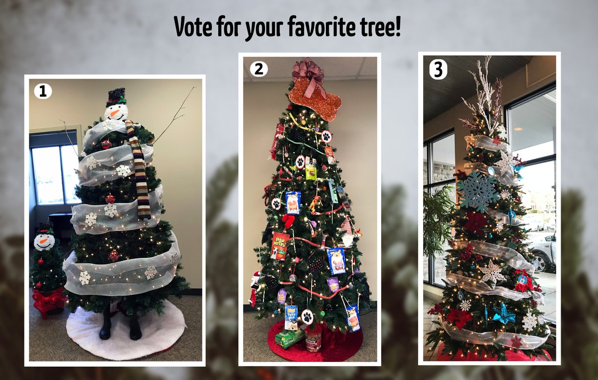 Nymeo On Twitter Vote For Your Favorite Christmas Tree By Liking