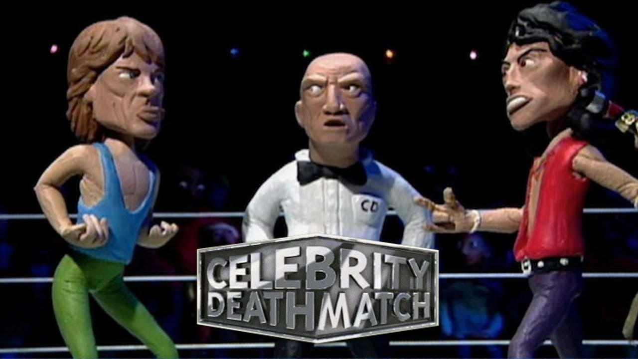 Celebrity Deathmatch is being revived by MTV and Ice Cube. ��  https://t.co/c7Zy1sx7cS https://t.co/zzBiIrVmm9