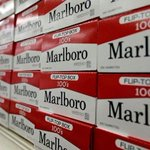 Image for the Tweet beginning: Marlboro maker Altria exploring move