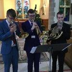 Image for the Tweet beginning: Year 12 music scholars performing