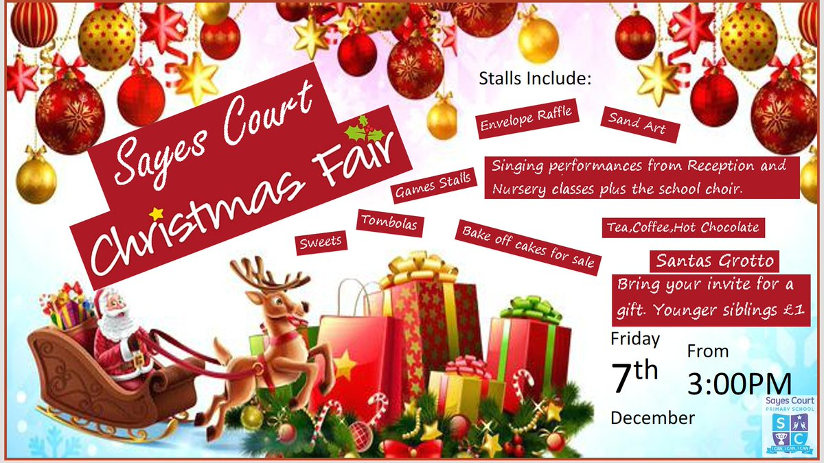 Sayes Court On Twitter Don T Forget Our Christmas Fair This