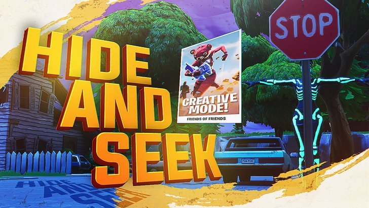 Myth On Twitter New Fortnite Creative Mode Hide And Seek First
