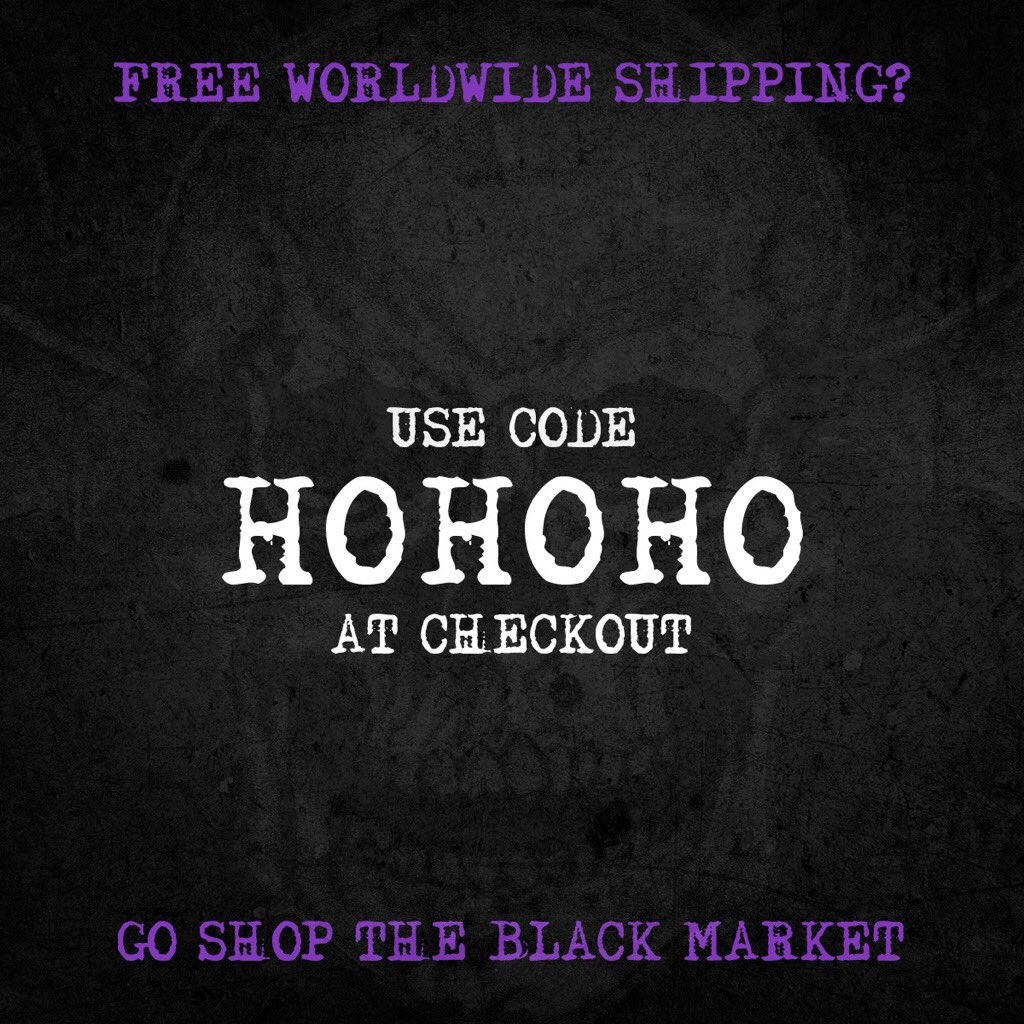 1 day left. Follow A7XWORLD on Instagram for all things Black Market.