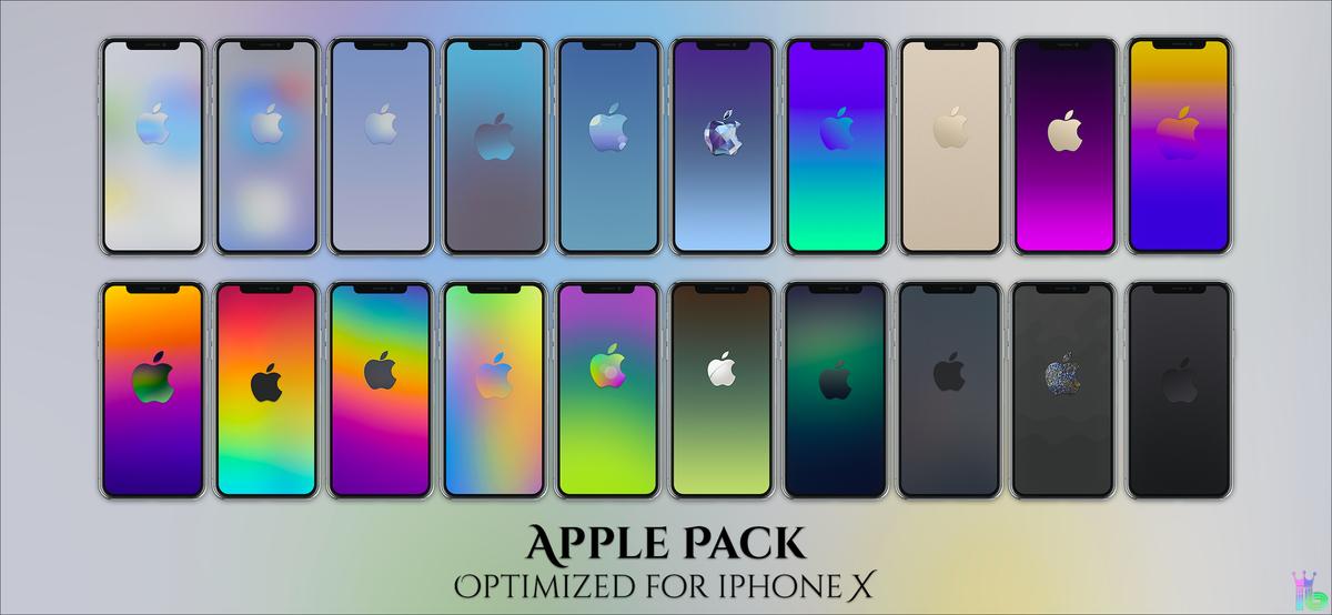 My Apple Collection Rt Lockscreen Homescreen Wallpaper