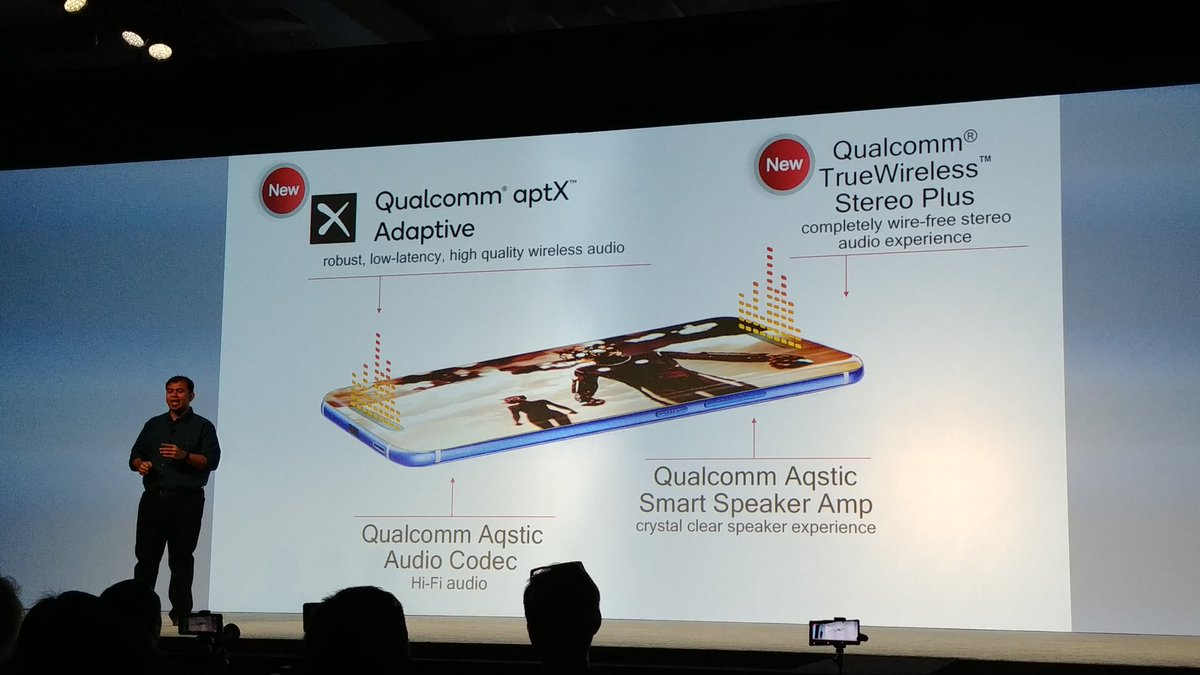 New audio support on the Snapdragon 855.