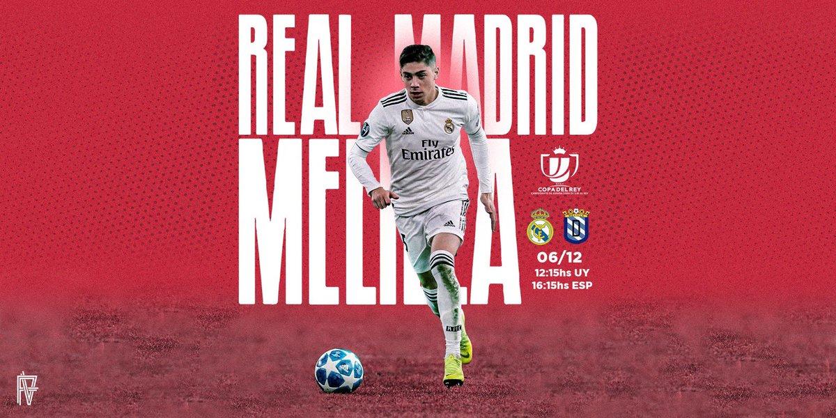 Copa del Rey 🔜 #HalaMadrid @realmadrid ⚪️