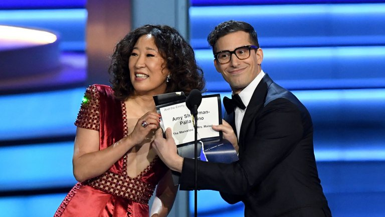 Andy Samberg and Sandra Oh to Host 2019 Golden Globes https://t.co/7qBjnEoEIT https://t.co/scpI4ME65V