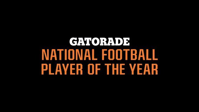 One final drive for greatness. Watch below for our Top 3 finalists in the running to be the 2018-2019 Gatorade National Football Player of the Year. #GatoradePOY http://playeroftheyear.gatorade.com
