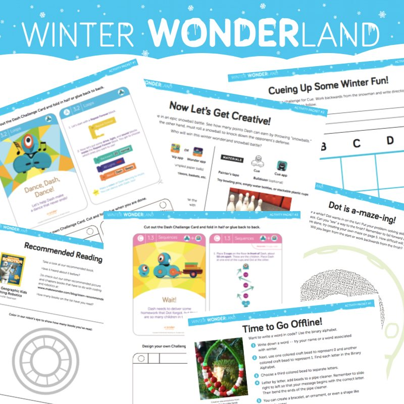 Wonder Workshop On Twitter We Made Six New Activity Packets For