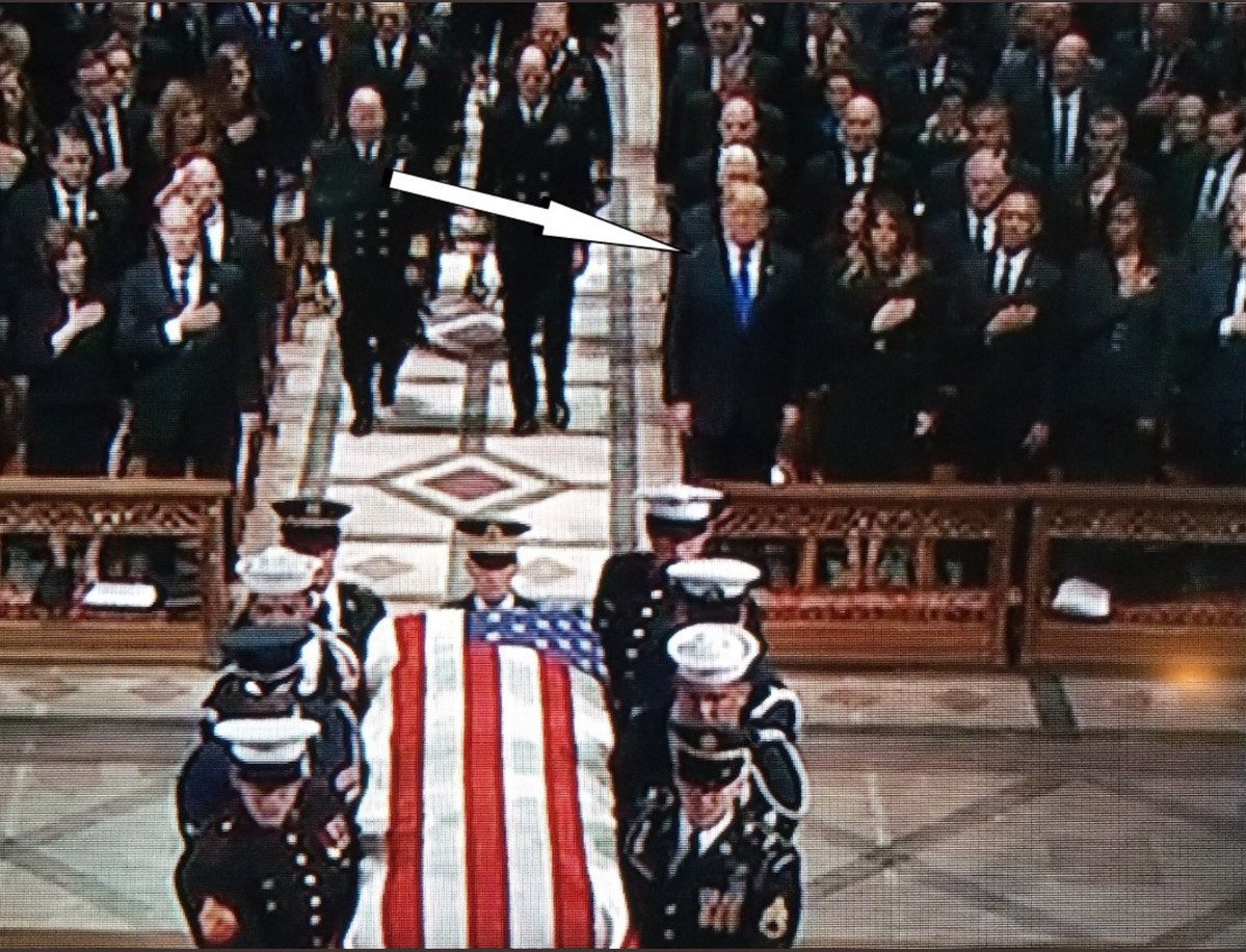 RT @girlsreallyrule: Cause only black football players are disrespectful. #GeorgeHWBushFuneral https://t.co/PtzDmXdG75