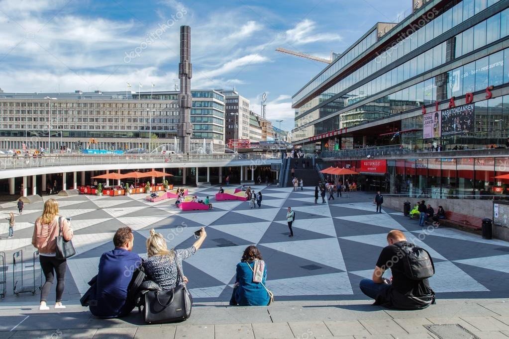 c4a44695c8d The project reminds me of Sergels Torg plaza in downtown Stockholm. A  sunken public space that flows directly into an underground shopping centre.