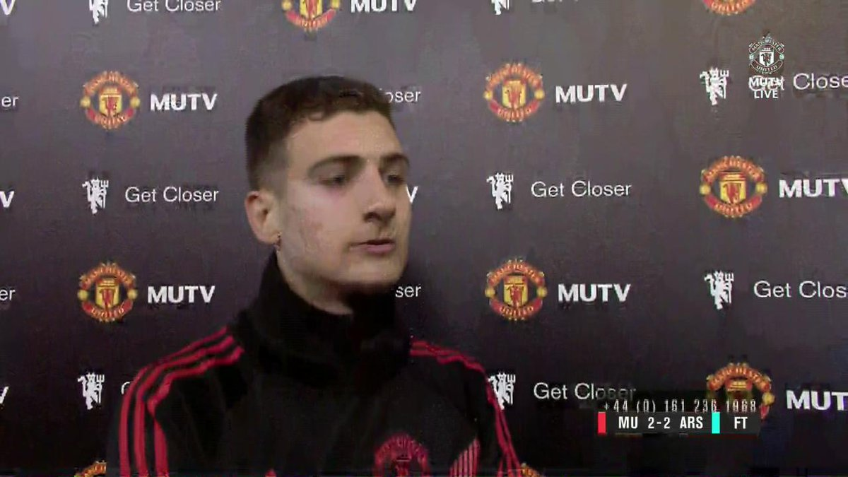 .@DalotDiogo gives #MUTV his thoughts on making his first #PL start for #MUFC!